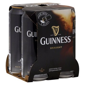 Guinness Draught Beer Cans