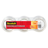 Scotch Long Lasting Moving & Storage Packaging Tape 3-pk. 1.88in x 38.