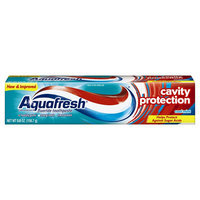 Aquafresh Triple Protection Flouride ToothPaste, Tube - 6.4 Oz