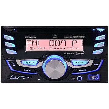 Dual DC525BI Double Din Am/fm/cd/mp3/wma/USB Built In Bt Front Aux
