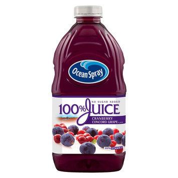 Ocean Spray 100% Cranberry & Concord Grape Juice 64 oz