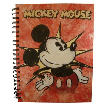 Innovative Designs 3-Subject Vintage Mickey Mouse Notebook