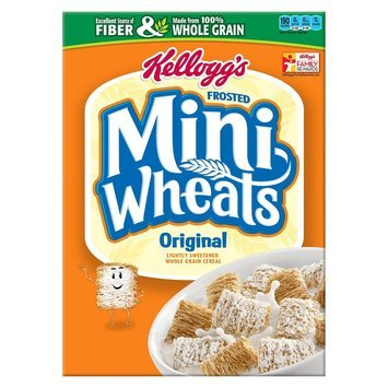 Kellogg's Mini-Wheats Bite Size Frosted Cereal