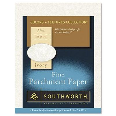 Southworth 24-lb. Fine Parchment Paper, Letter, Ivory