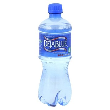 Deja Blue Purified Water 20 oz