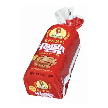 Sun-Maid Cinnamon Swirl Raisin Bread
