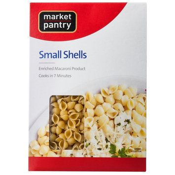 Market Pantry Small Shells Enriched Pasta 16 oz