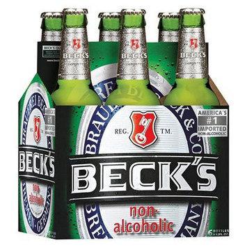 Becks Beck's Non Alcoholic Beer 12 oz, 6 pk