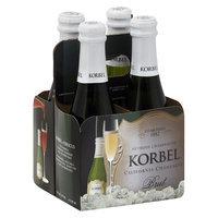 Korbel Brut California Champagne 1.87 ml, 4 pk