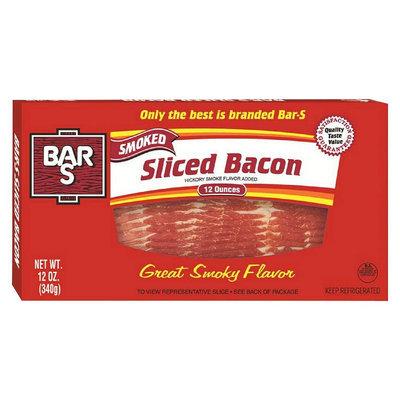 BAR S Smoked Sliced Bacon 12 oz