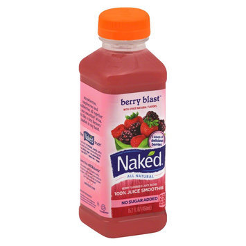 Naked All Natural Berry Blast 100% Juice Smoothie 15.2 oz