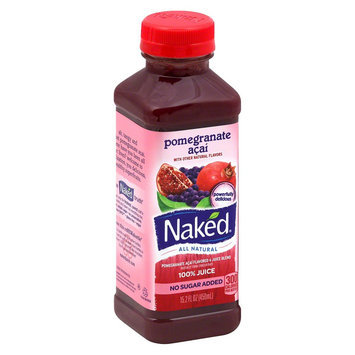 Naked Pomegranate Acai All Natural Juice 15.2 oz