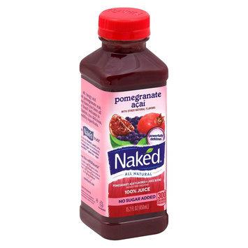 Naked Pomegranate Acai All Natural Juice 15.2 oz