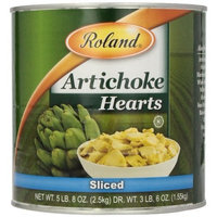 Roland Sliced Artichoke Hearts, 5.5-Pounds Cans (Pack of 2)