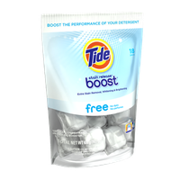 Tide Boost Free Duo Pacs In-Wash Booster 18 Count