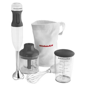 Kitchenaid KitchenAid 3-Speed Immersion Blender in White KHB2351WH