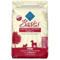Blue Buffalo Basics Adult Salmon and Potato Recipe Dry Dog Food