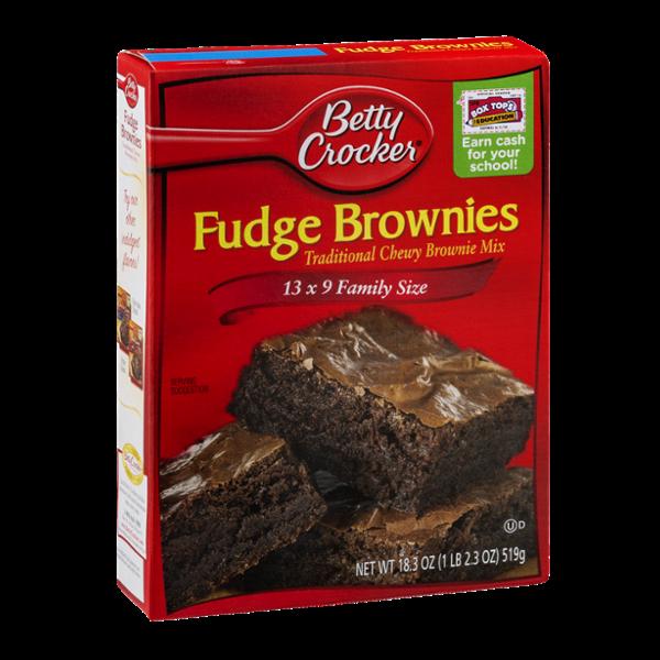 Betty Crocker™ Fudge Brownies Mix