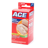 3M MMM207313 Elastic Bandage with E- Z Clips 4 in. Beige