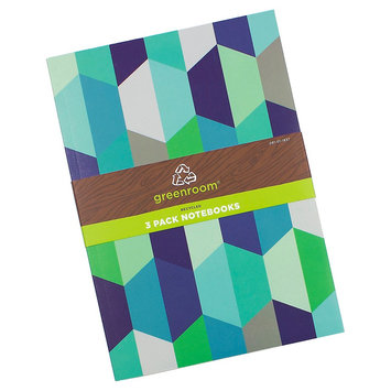 Clementine Paper Greenroom 120ct 7.5x10 Notebook