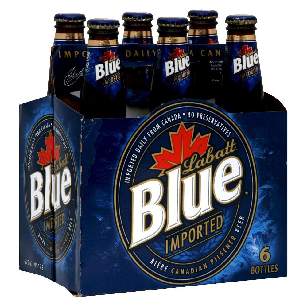 North American Breweries Labatt Blue Imported Canadian Beer
