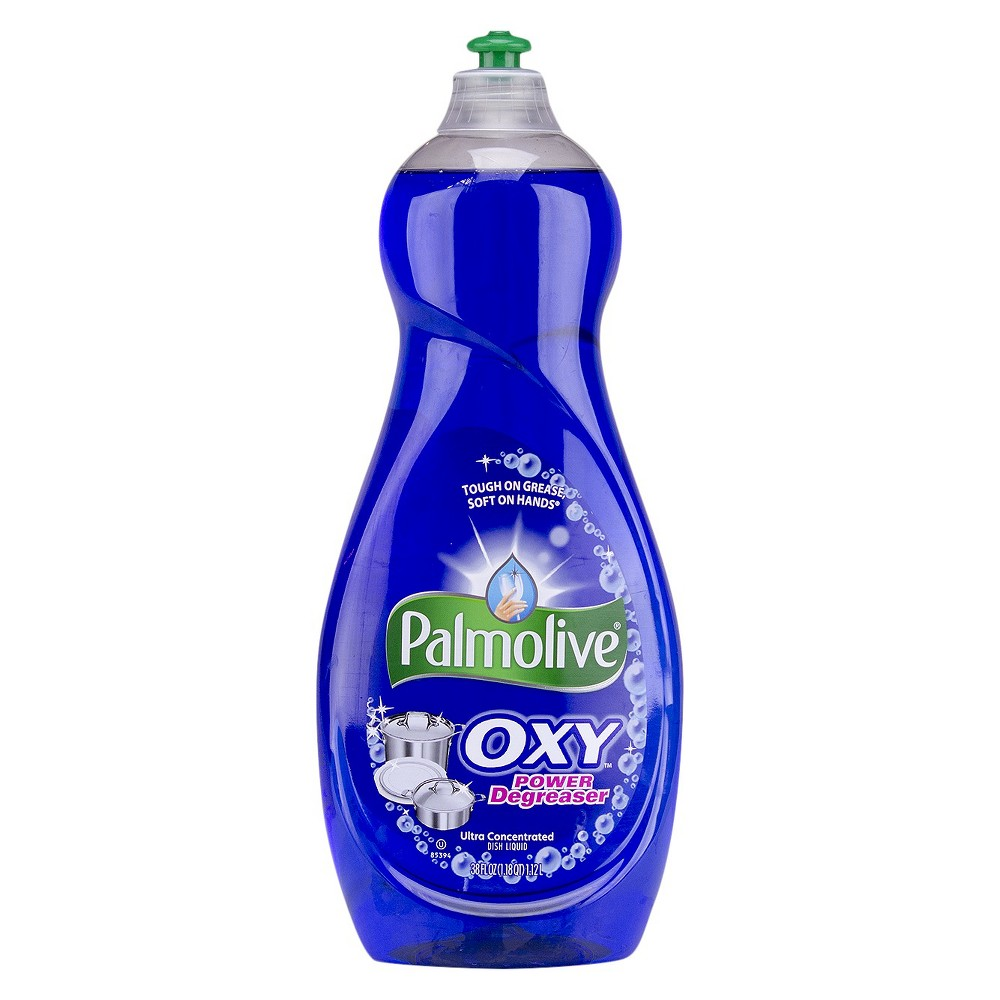 Colgate Oxy-Plus Power Degreaser Concentrated Dish Liquid, 38 fl oz