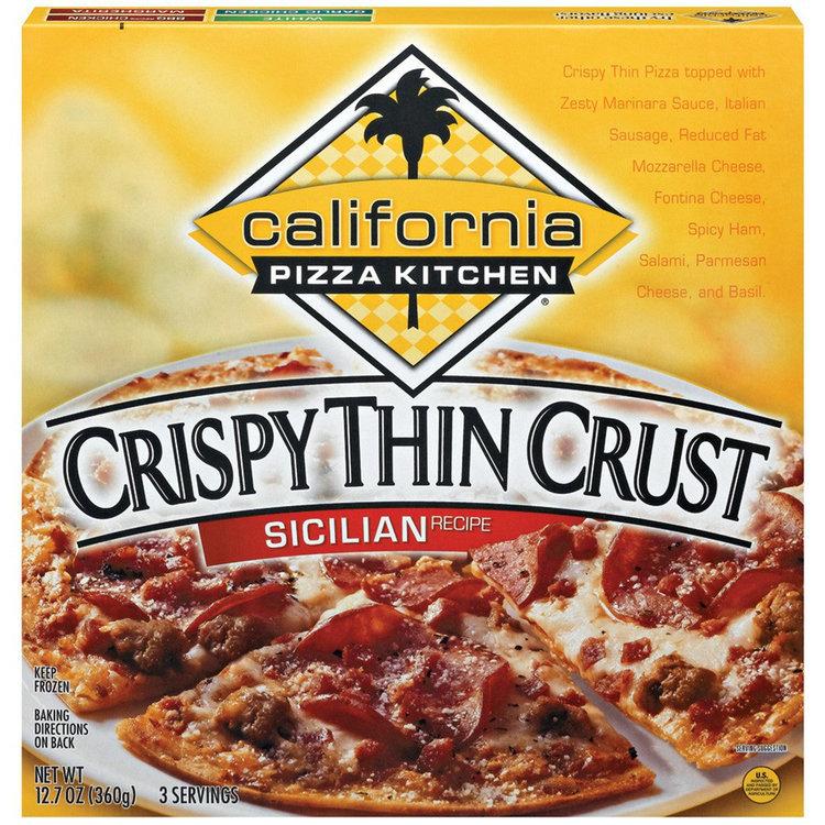 Pleasant California Pizza Kitchen Sicilian Recipe Crispy Thin Crust Pizza 12 Home Interior And Landscaping Ologienasavecom