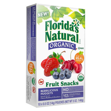 Ausome Florida's Natural Au'some Organic Nuggets Berrilicious Flavored