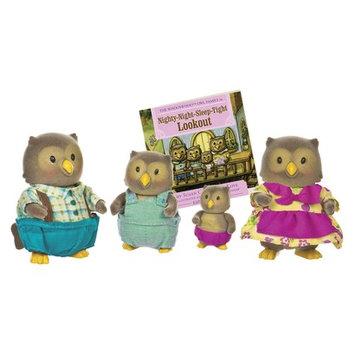 Li'l Woodzeez Whooswhoos Owl Family