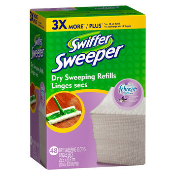 Swiffer Sweeper with Febreze Lavender Vanilla & Comfort Scent Dry