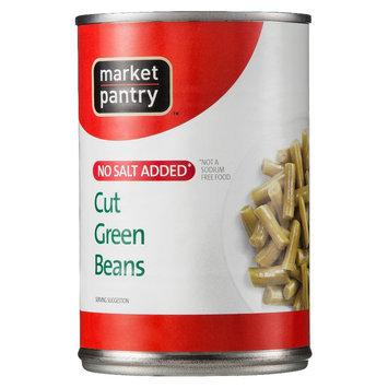 Market Pantry No Salt Added Cut Green Beans 14.5 oz