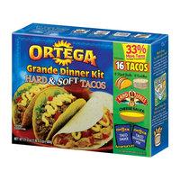 Ortega Hard & Soft Taco Grande Dinner Kit
