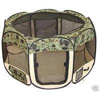 Bestpet Camouflage Cat Pet Dog Puppy Playpen Exercise Pen XS