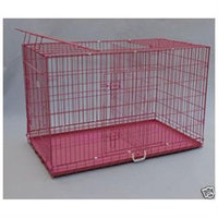 Bestpet 54 3Door Folding Dog Cat Crate Cage Kennel w/DIVIDER P