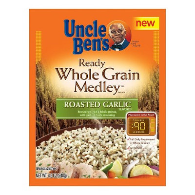 Uncle Ben's Ready Whole Grain Medley Roasted Garlic Flavored Grain