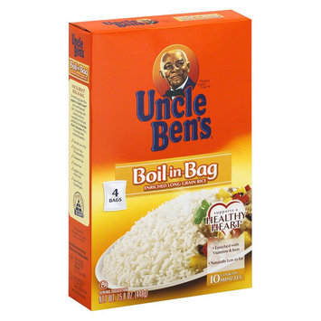 Uncle Ben's Boil-in-Bag Rice 4 ct