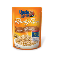 Uncle Ben's Ready Rice Chicken Flavored Whole Grain Brown Rice 8.8 oz