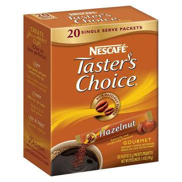 Nescafe Taster's Choice Hazelnut Gourmet Instant Coffee 0.07 oz 20 ct