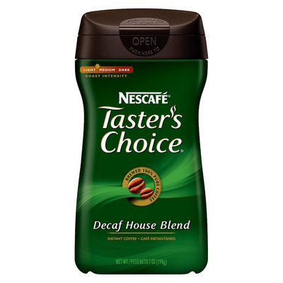 Nescafe Taster's Choice Decaff House Blend Instant Coffee 7 oz