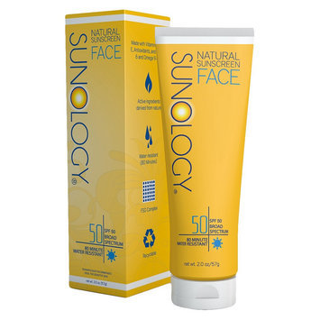 Sunology Natural Sunscreen Creme for Face SPF 50