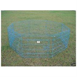 Bestpet 42 Blue Pet Dog Cat Play Exercise Pen Fence w/Case 4U