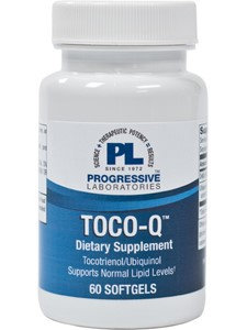 Progressive Laboratories, Toco-Q 60 softgels