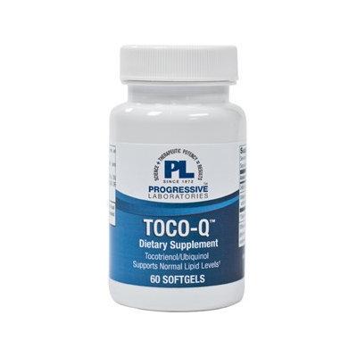 Progressive Laboratories, Toco-Q 60 softgels