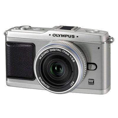 Olympus PEN 12.3MP with 17-mm. Lens Digital SLR Camera E-P1
