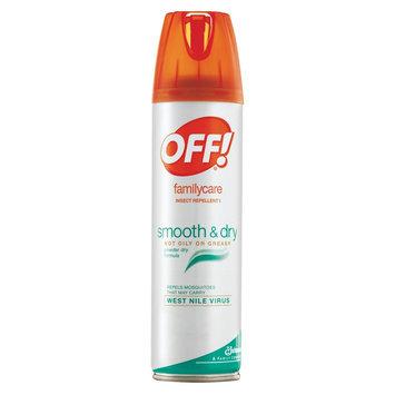 OFF! FamilyCare Smooth & Dry 4oz Aerosol