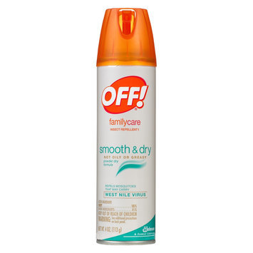 S.c. Johnson OFF FAMILY CARE SMTH & DRY 4OZ SC
