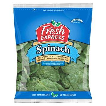 Fresh Express Spinach 9 oz