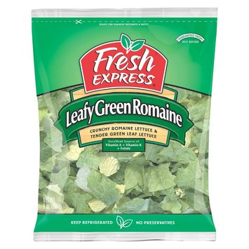 Fresh Express Leafy Green Romaine Lettuce 9 oz