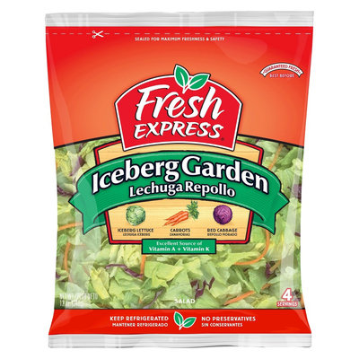Fresh Express Iceberg Garden Salad 12 oz