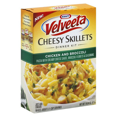 Velveeta Cheesy Skillets Chicken and Broccoli 14.64 oz